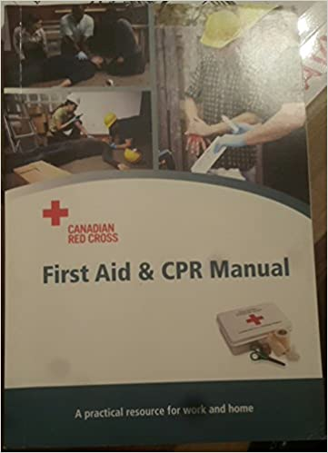 canadian red cross first aid manual ebook