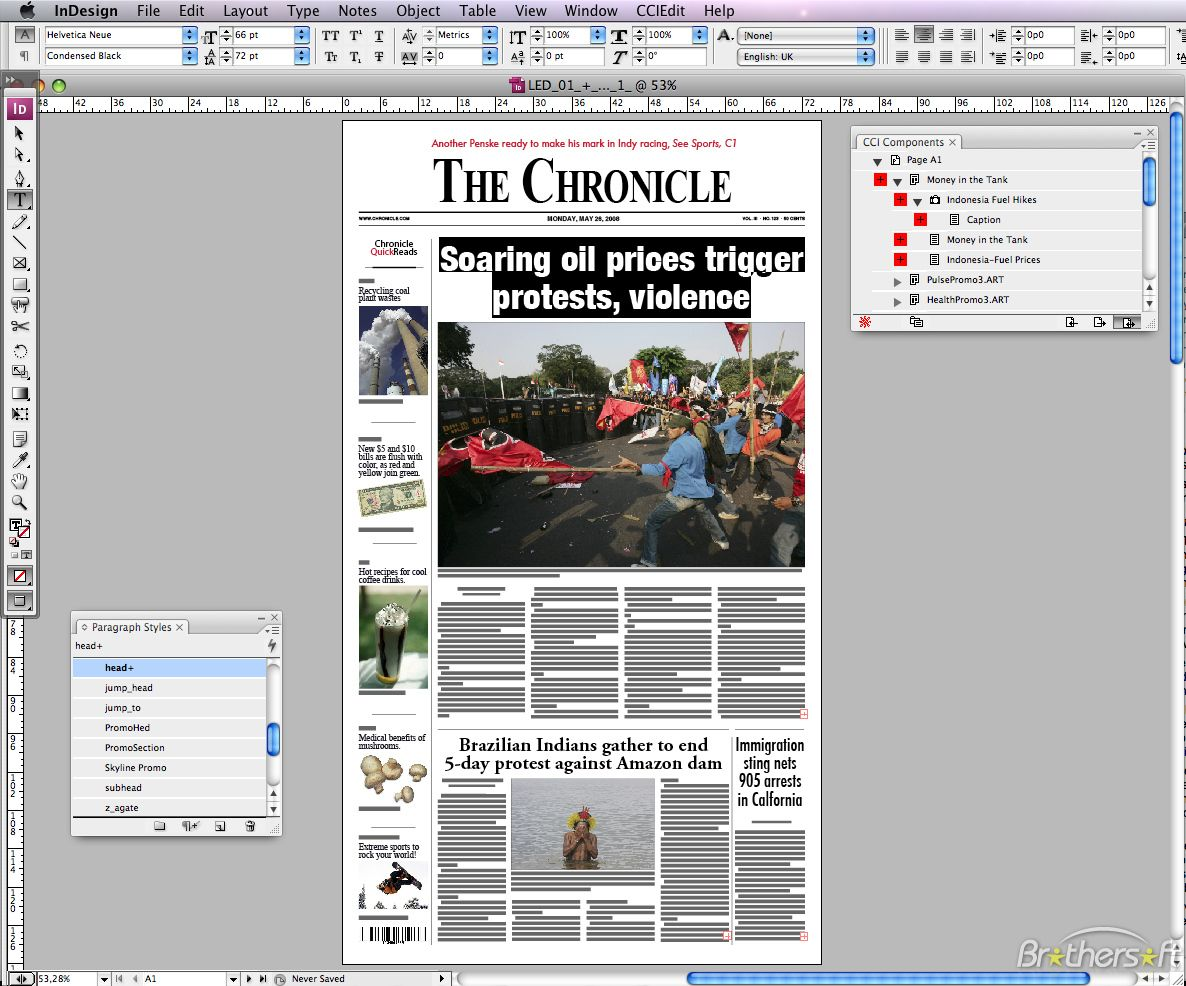 indesign export to epub problems