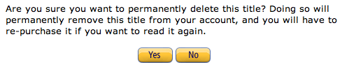 how to delete ebooks on cloud permanently